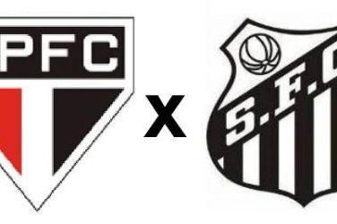 São Paulo x Santos