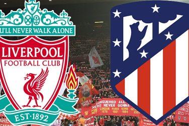 Liverpool x Atlético de Madrid