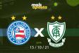 América-MG x Bahia / Brasileirão (16/10/2021)